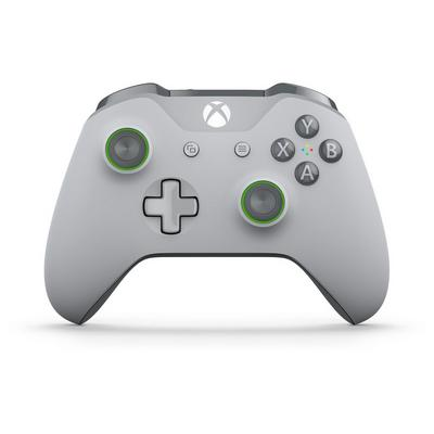 Microsoft Xbox One Green/Gray Wireless Controller