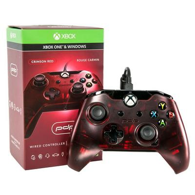 Xbox One Crimson Red Wired Controller