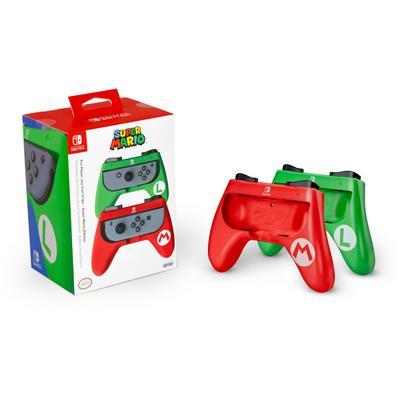 Nintendo Switch Mario and Luigi Joy-Con Grips Only at GameStop