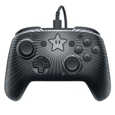 Nintendo Switch Faceoff Wired Pro Controller Super Mario Star