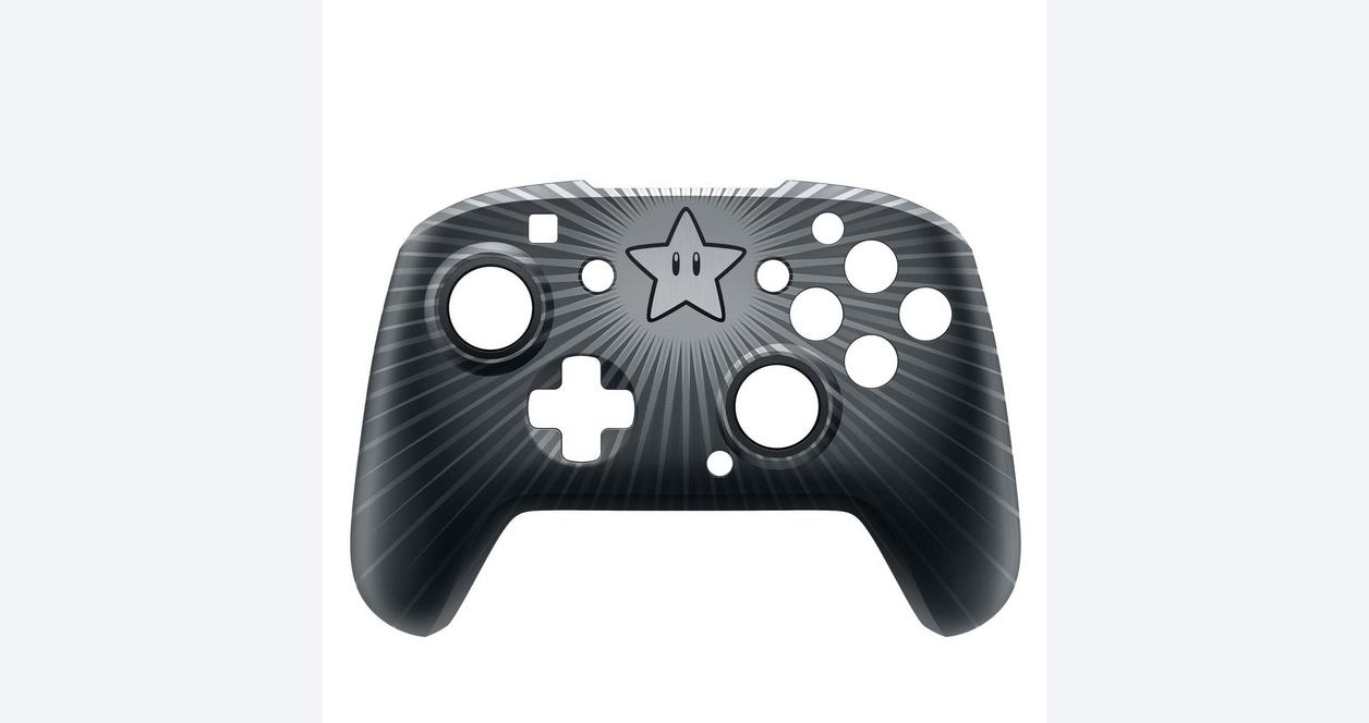 Nintendo Switch Faceoff Wired Pro Controller - Super Mario Star Edition