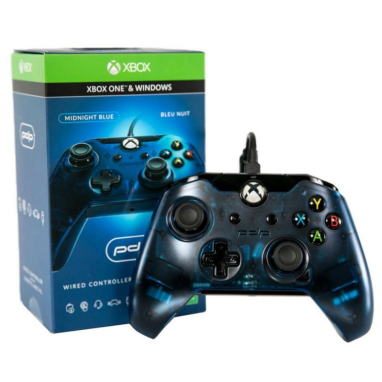 Xbox One Midnight Blue Wired Controller