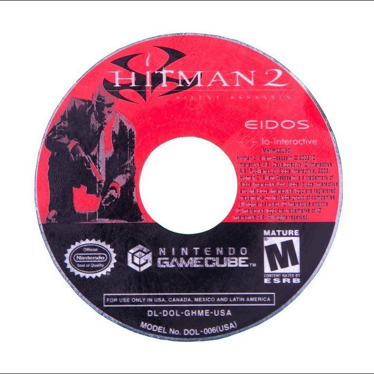 Hitman 2 Silent Assassin Game Cube Gamestop