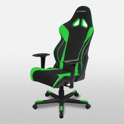 OH/RW106 Black and Green Racing Series Gaming Chair