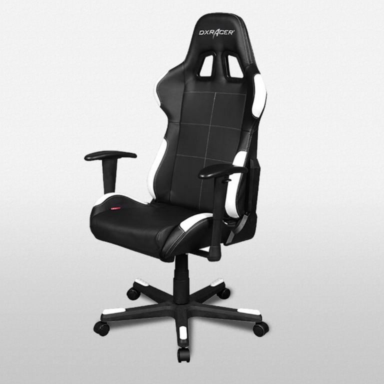 DXRacer Formula Series Black and White - OH/FD99/NW