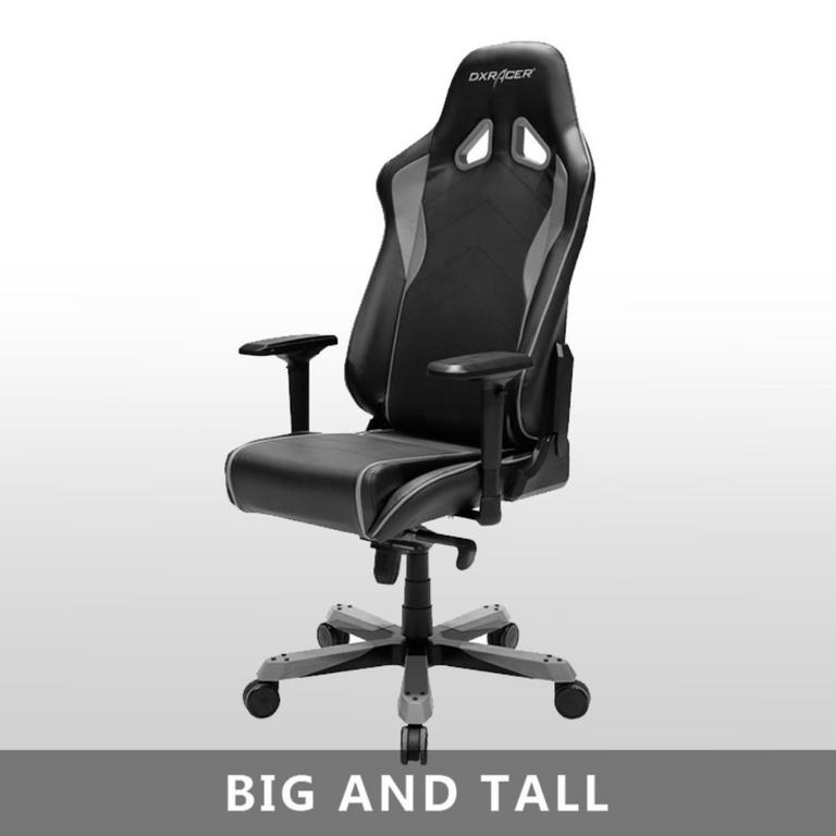 OH/SJ08 Black/Gray Sentinal Series Gaming and Office Chair