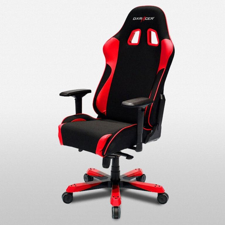 DXRacer King Series Black and Red - Stong Mesh Cloth - OH/KS11/NR