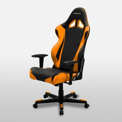 OH/RE0 Black and Orange Racing Series Gaming Chair