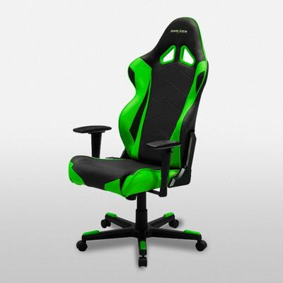 OH/RE0 Black/Green Racing Series Gaming and Office Chair