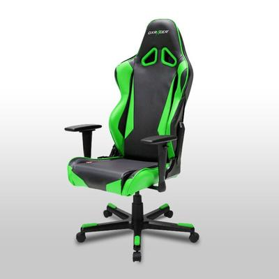 OH/RB1 Black/Green Racing Series Gaming and Office Chair