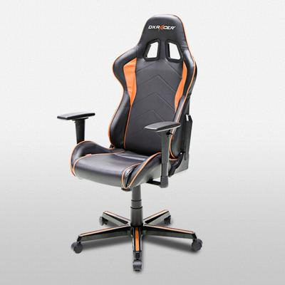 OH/FH08 Black and Orange Formula Series Gaming Chair