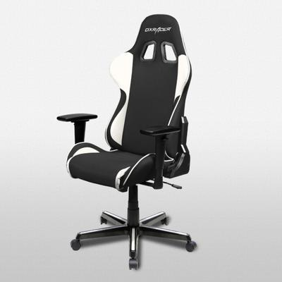 OH/FH11 Black/White Formula Series Gaming and Office Chair
