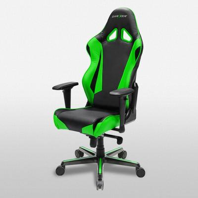 OH/RV001 Black/Green Racing Series Gaming and Office Chair