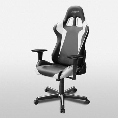 OH/FH00 Black/White Formula Series Gaming and Office Chair