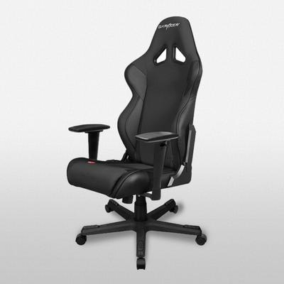 DXRacer Racing Series Black and White - OH/RW106/N