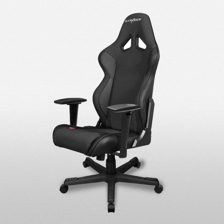 OH/RW106 Black Racing Series Gaming Chair