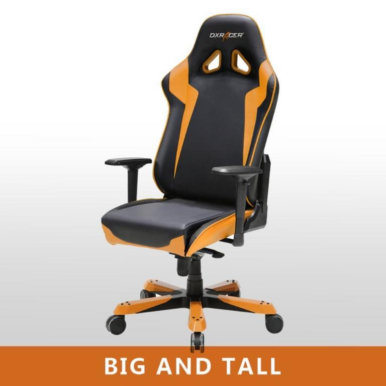 OH/SJ00 Black/Orange Sentinal Series Gaming and Office Chair