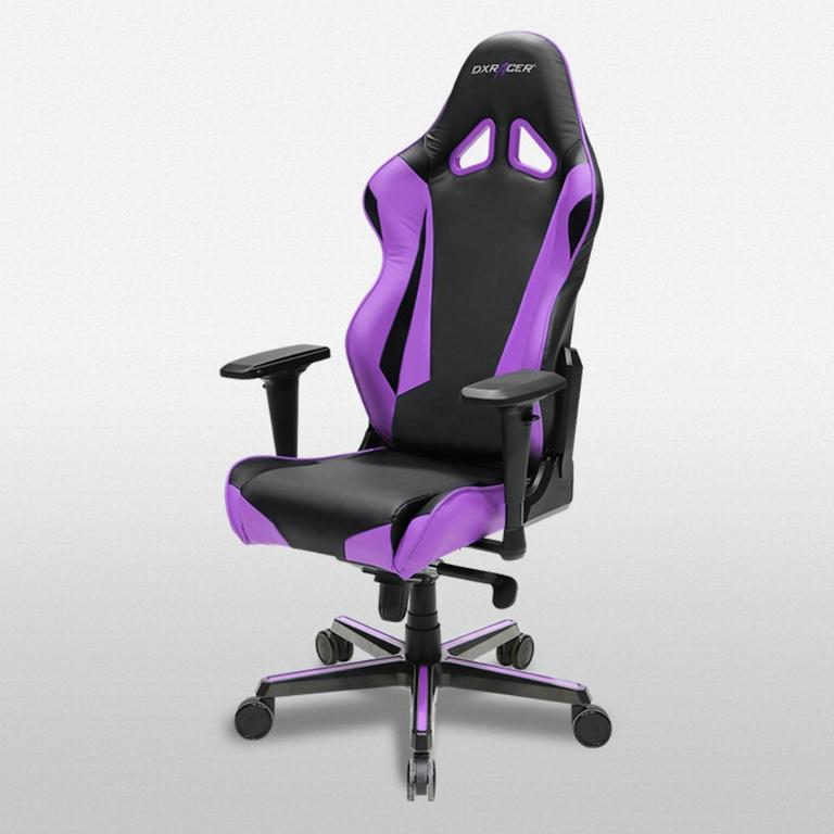 DXRacer Racing Series Black and Violet - OH/RV001/NV