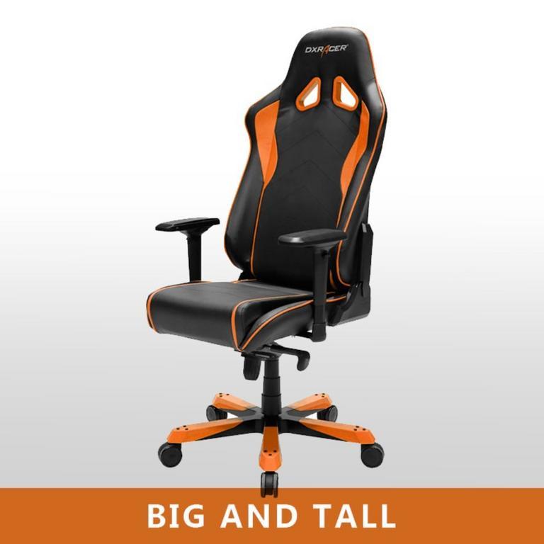 OH/SJ08 Black/Orange Sentinal Series Gaming and Office Chair