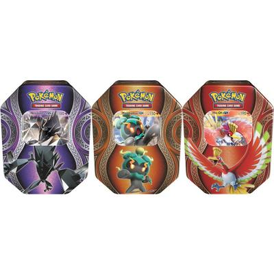 Pokemon Trading Card Game: Mysterious Powers Tin