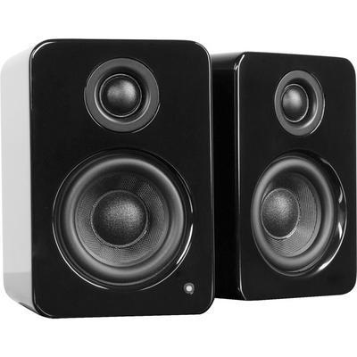 YU2 Gloss Black Powered Desktop Speakers