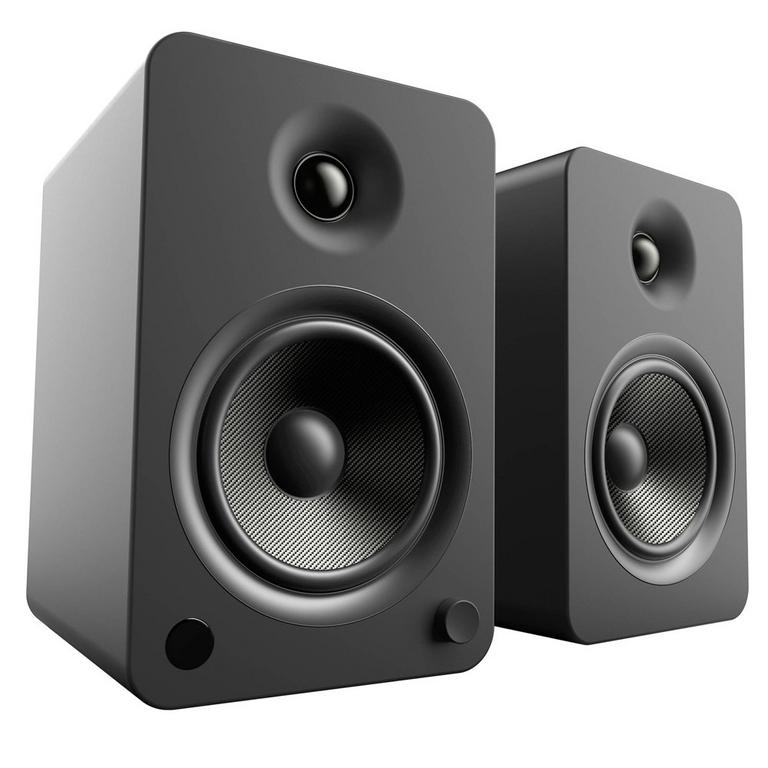 YU6 Onyx 2-Way Powered Bookshelf Speakers