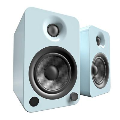 Kanto Living YU4 2-Way Powered Bookshelf Speakers Pair - Teal