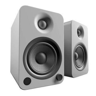 YU4 Steel 2-Way Powered Bookshelf Speakers