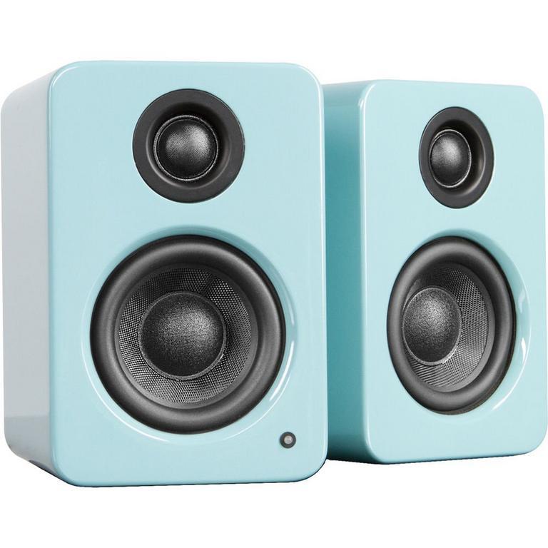 YU2 Gloss Teal Powered Desktop Speakers