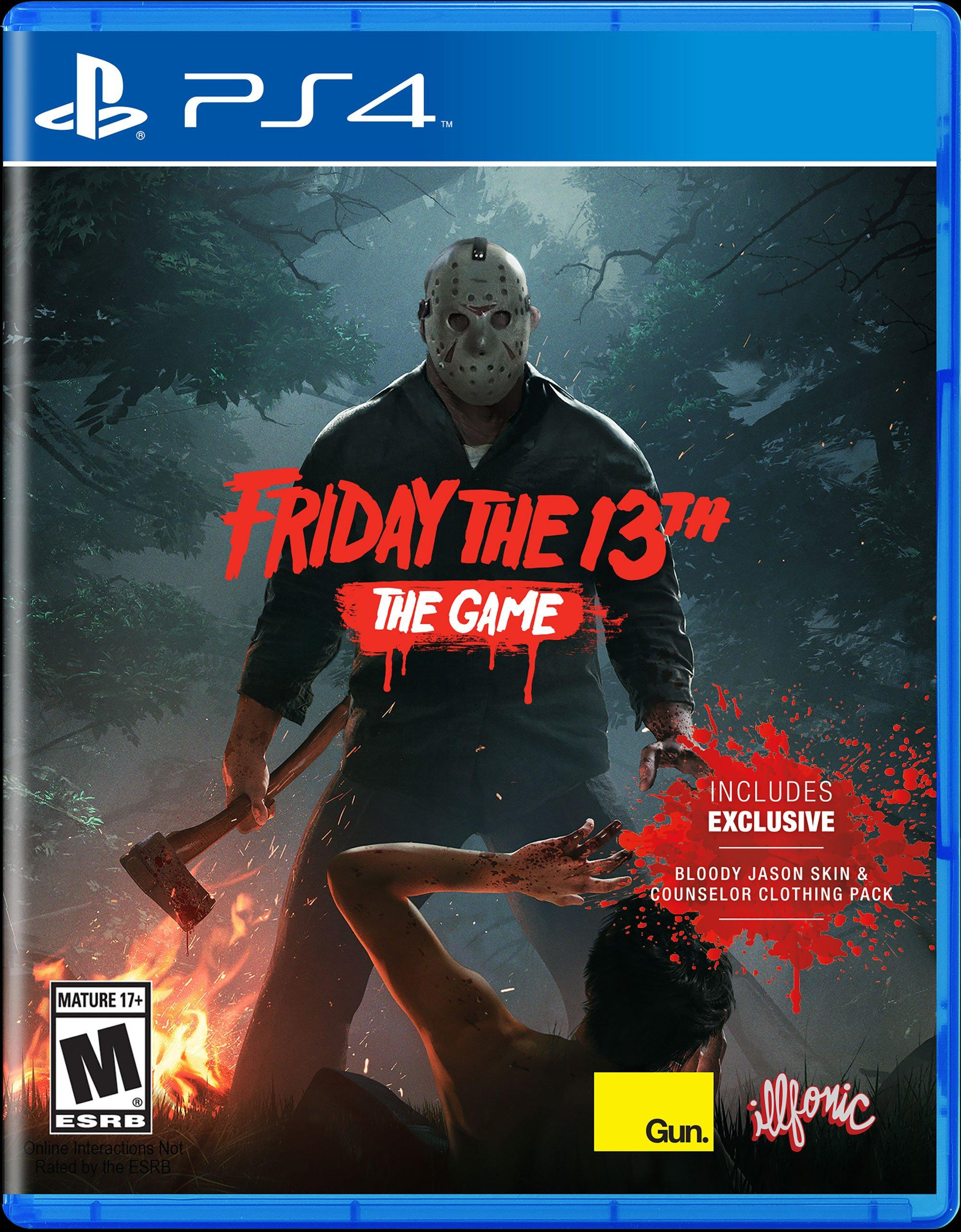 Friday The 13th The Game Playstation 4 Gamestop