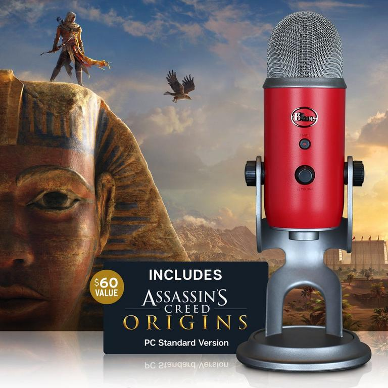 Yeti Microphone Assassin's Creed Origins Bundle - Only at GameStop