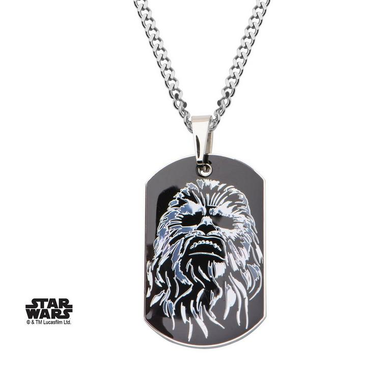Star Wars Chewbaca Dog Tag Necklace