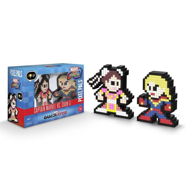 Marvel vs. Capcom: Infinite Captain Marvel VS. Chun-Li Pixel Pals 2 Pack