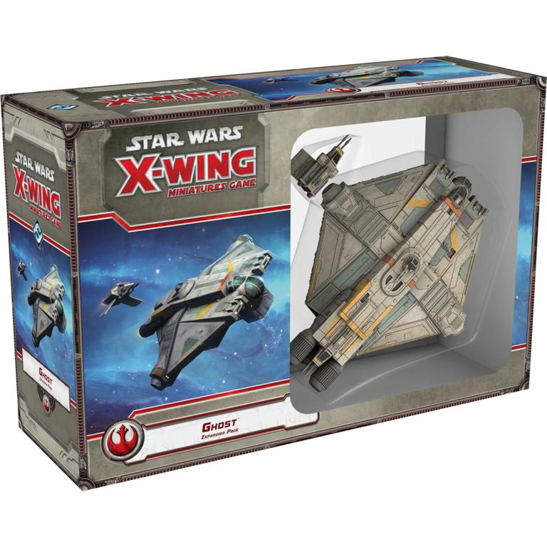 Star Wars X-Wing Miniatures Game: Ghost Expansion Pack