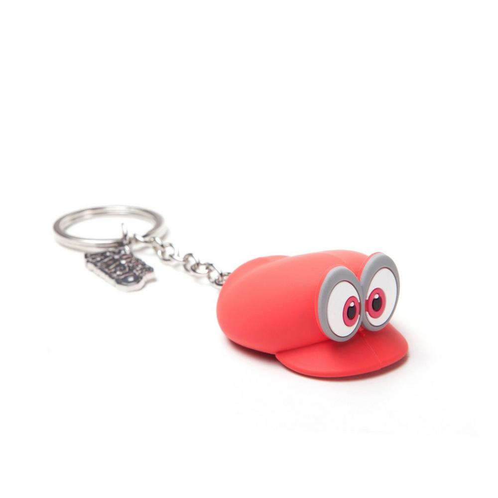 Nintendo Rubber Keychain Mario Odyssey Hat | GameStop