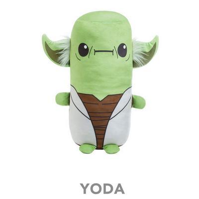 Star Wars Cutesy Roll Pillow - Yoda
