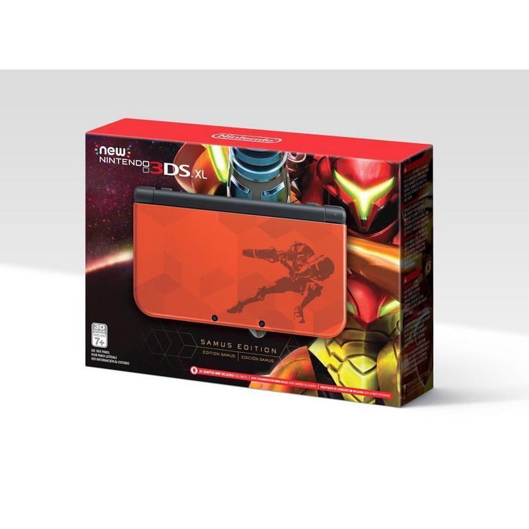 New Nintendo 3DS XL Metroid Samus