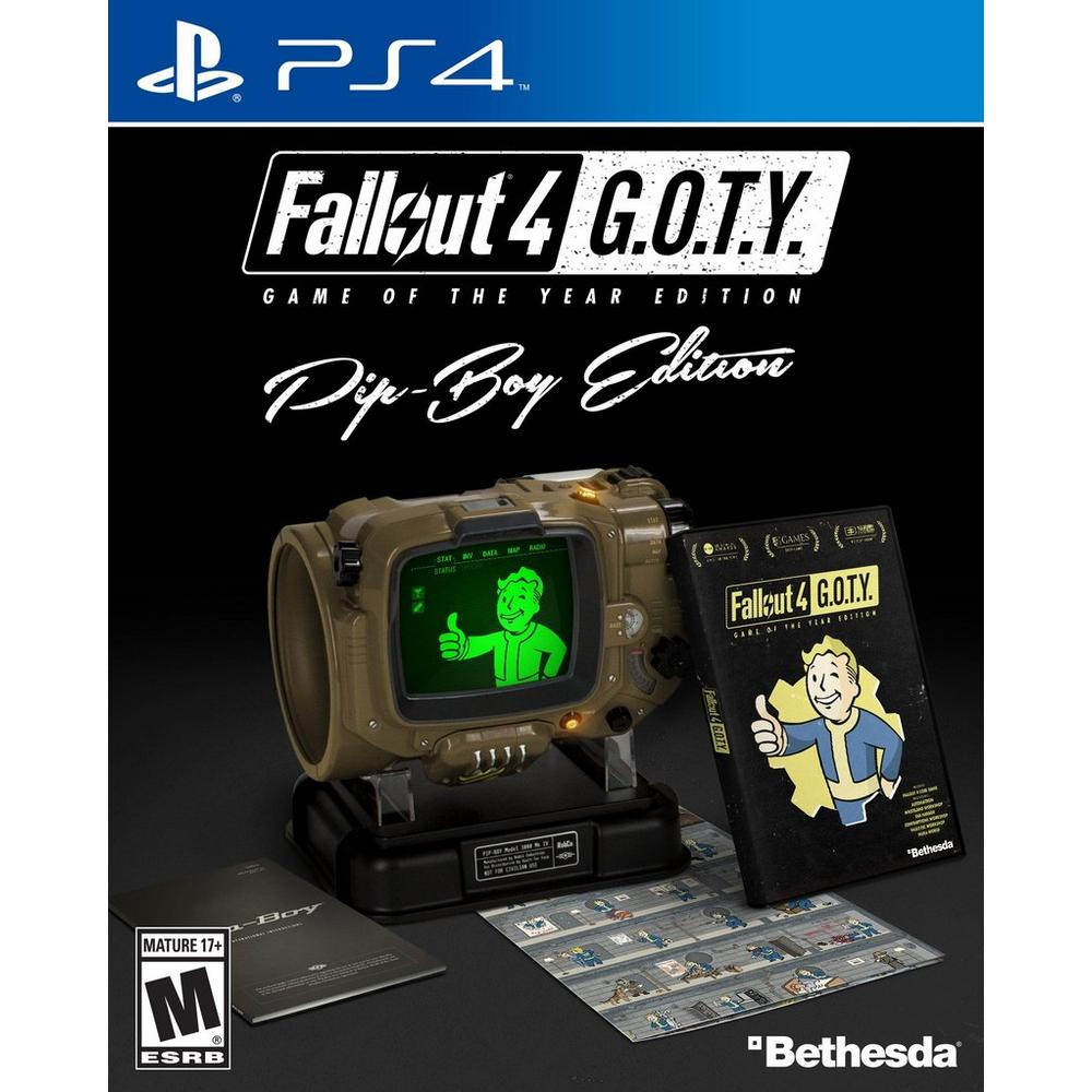 Fallout 4 Game of the Year Edition - Pip-Boy Edition | PlayStation 4 |  GameStop