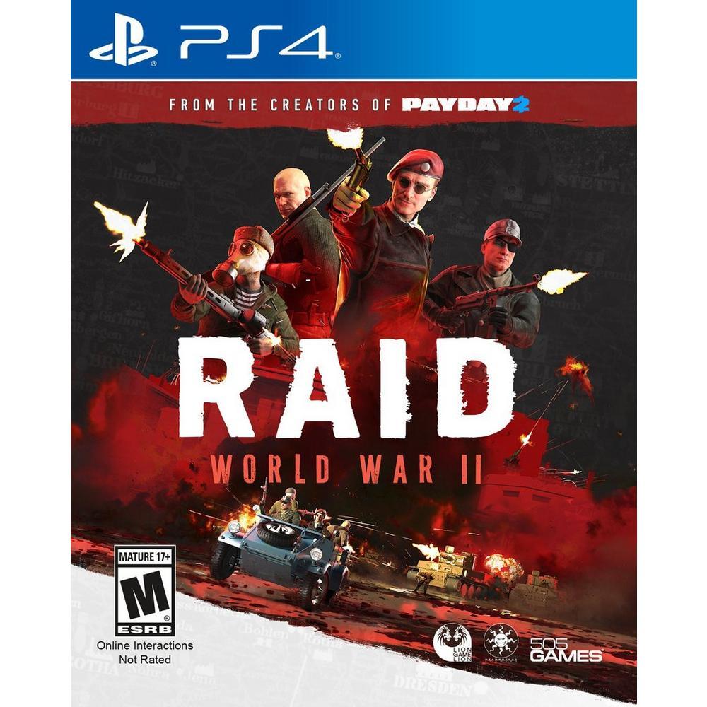 Raid: World War II   PlayStation 4   GameStop