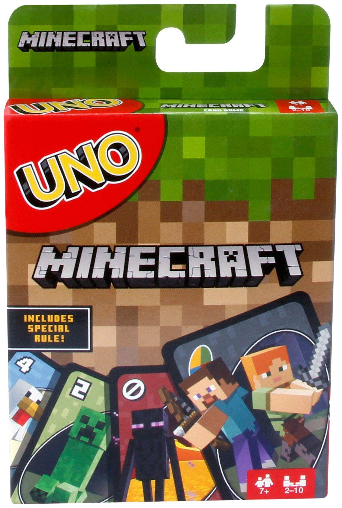 UNO Minecraft Card Game | GameStop