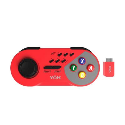 SNES YoK Wireless Controller - Red