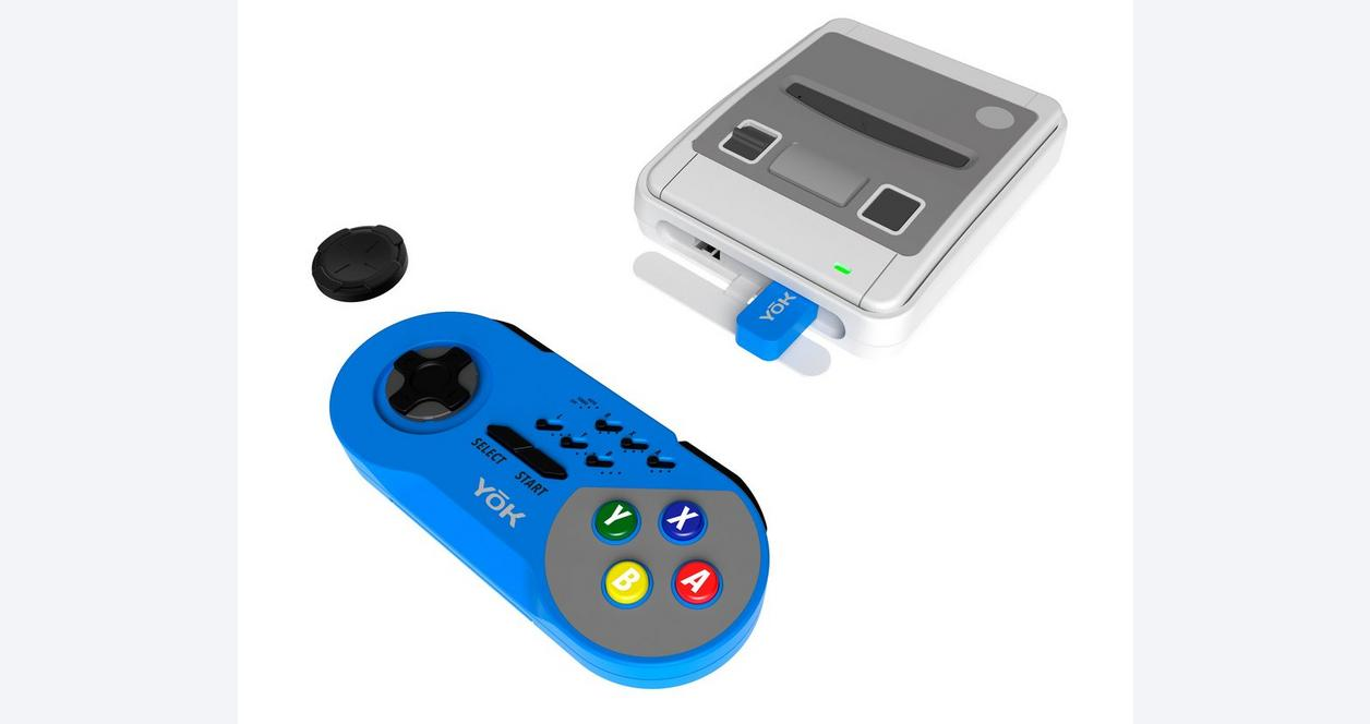 Red TURBO Wireless Controller for Super NES