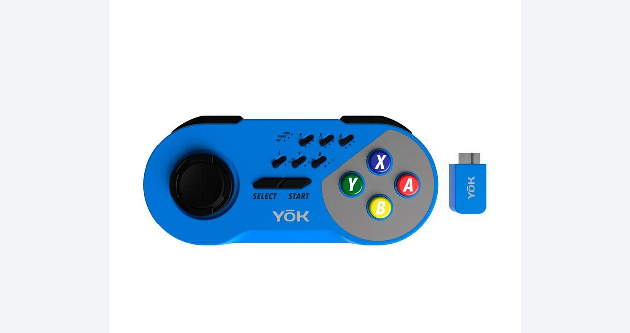 SNES YoK Wireless Controller - Red
