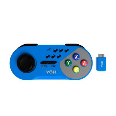 SNES Blue Wireless Controller