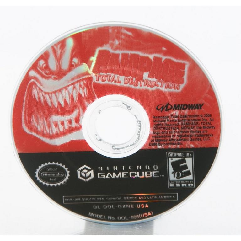 Rampage Total Destruction Game Cube Gamestop