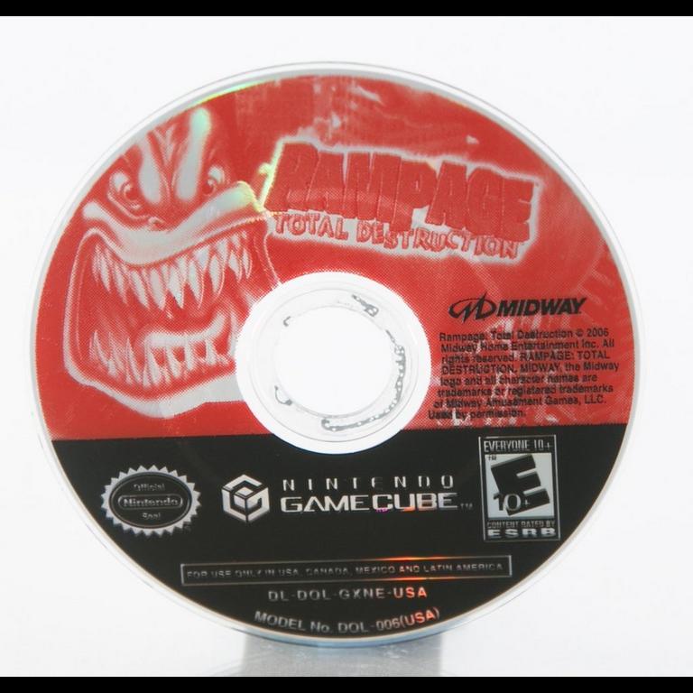 Rampage Total Destruction Game Cube Gamestop