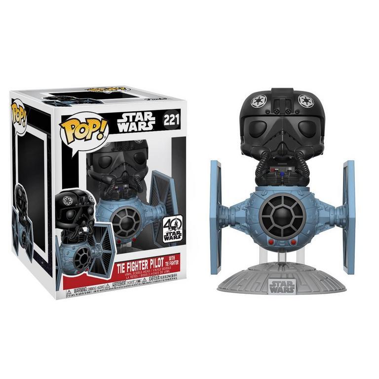 POP! Star Wars: Tie Fighter Pilot with Tie Fighter