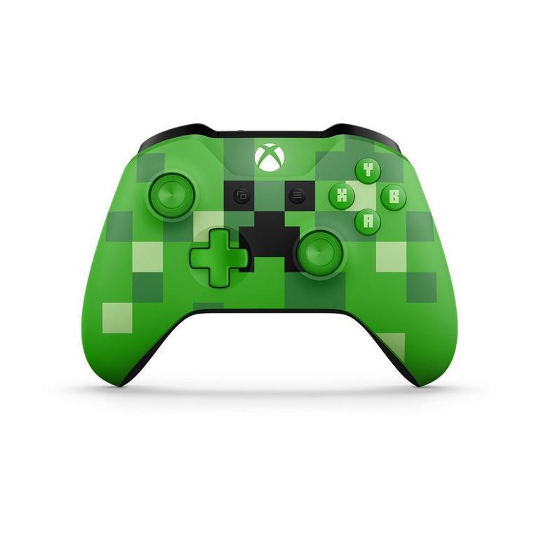 Microsoft Xbox One Minecraft Creeper Edition Wireless Controller