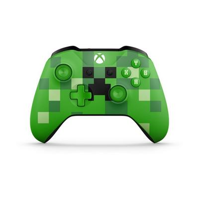 Xbox One Minecraft Creeper Edition Wireless Controller