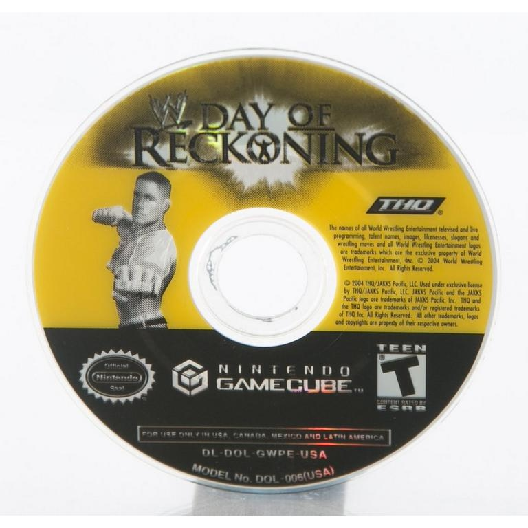 WWE Day of Reckoning | Game Cube | GameStop